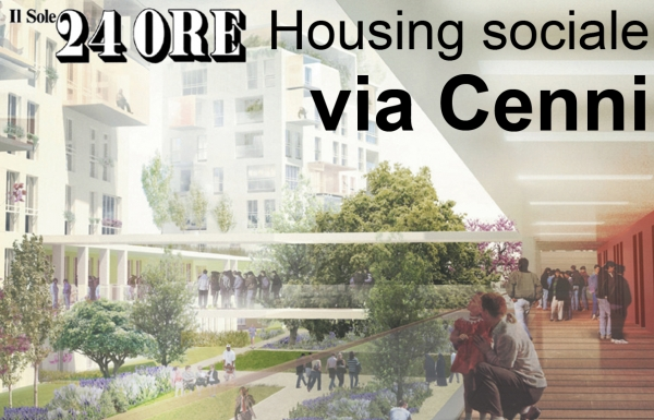 Social Housing: best project for competition of Via Cenni