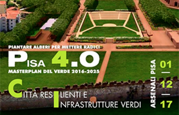 Pisa 4.0 Resilience cities and Green infrastructure