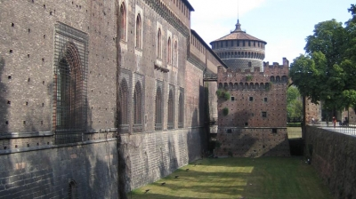 Renovation of the Castello Sforzesco