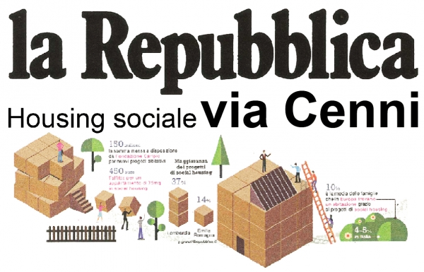 Via Cenni: the greatest example of social housing in Europe